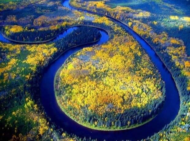 Река Обь. Фото взято из открытых источников