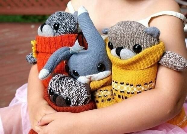 Мягкие игрушки из трикотажа