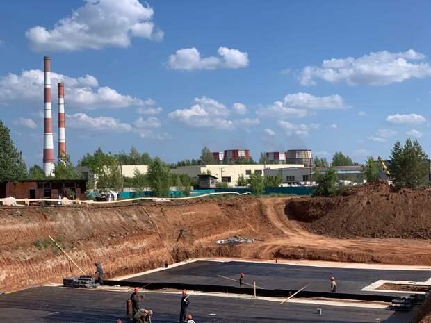 В Ижевске строят станцию для повторного использования промывных вод