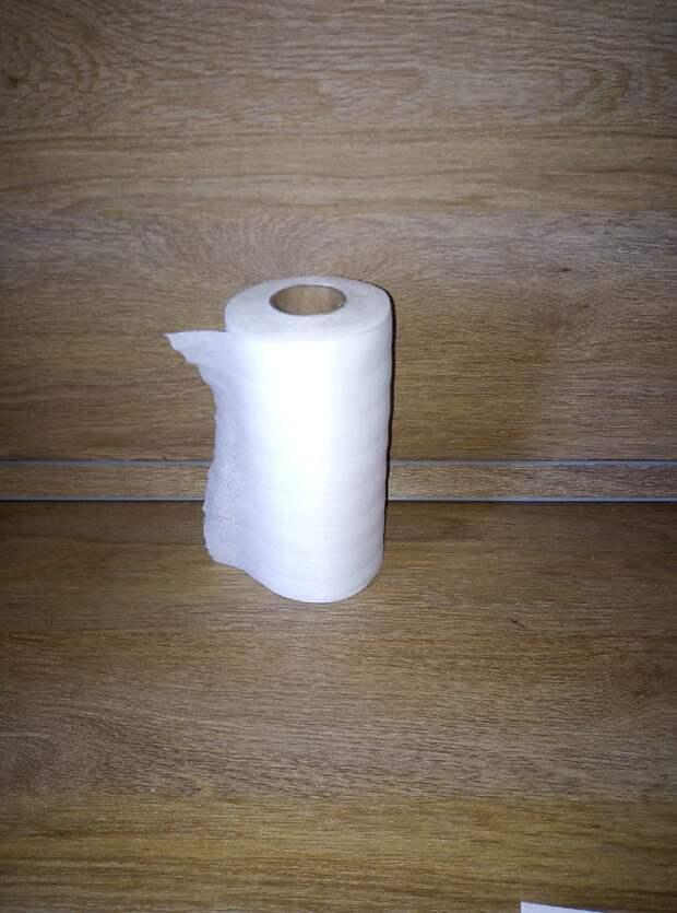 Подставка для бумажных кухонных полотенец — очень нужный предмет, но не такого же качества!