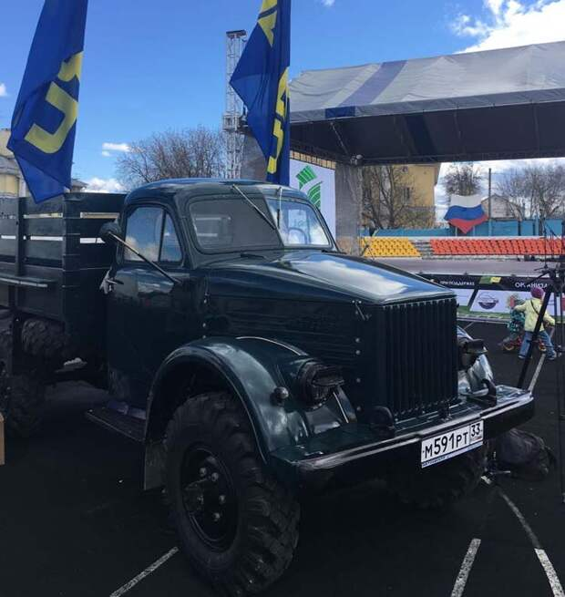 восстановление автомобиля ГАЗ-63