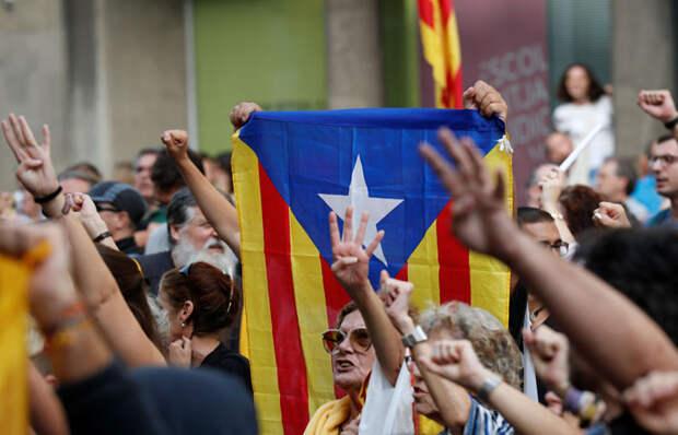 До 13 лет тюрьмы дали 9 каталонским лидерам референдума о независимости