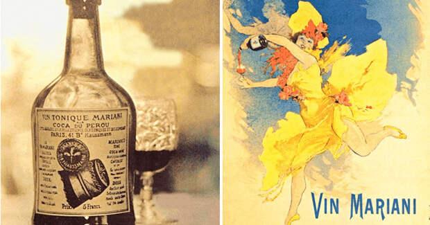 Vin Mariani: вино с кокаином, которое пили Папы Римские, писатели и политики