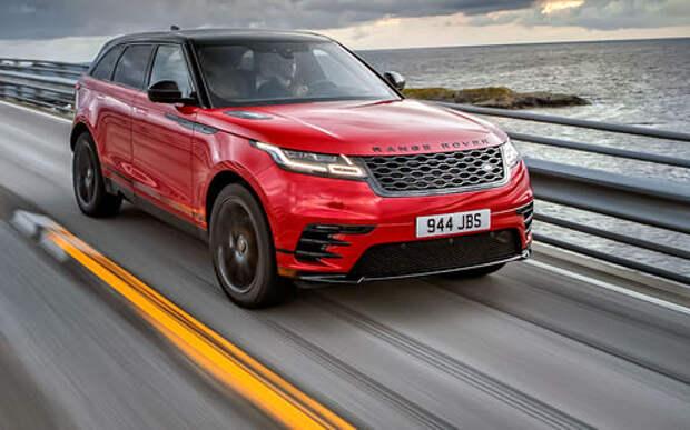 Новый Range Rover Velar: первые впечатления