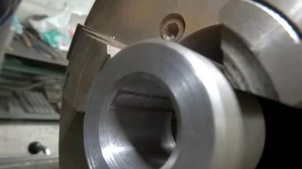 Как сделать шпоночный паз на токарном станке