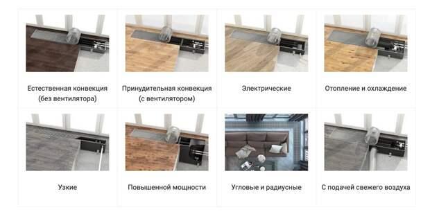 Как выбрать встраиваемые (внутрипольные) конвекторы