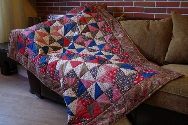 одеяло из лоскутов
