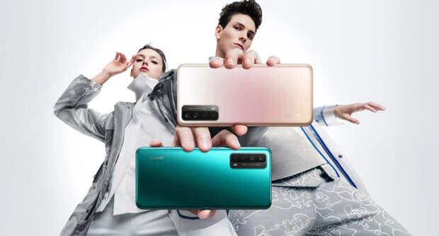 Анонсирован молодежный смартфон Huawei Y7a