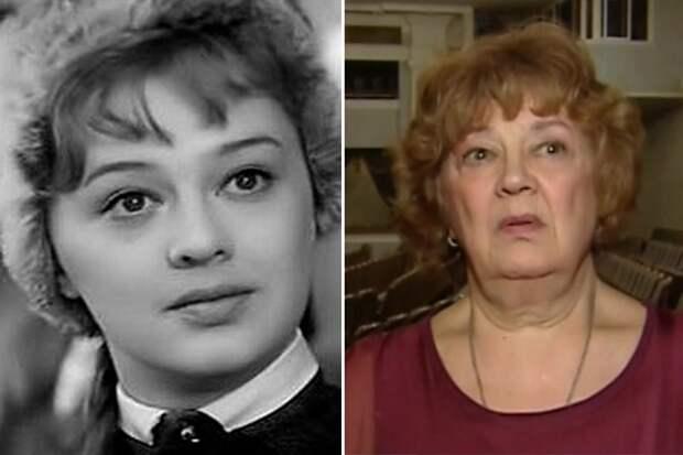 Актриса Алина Покровская.