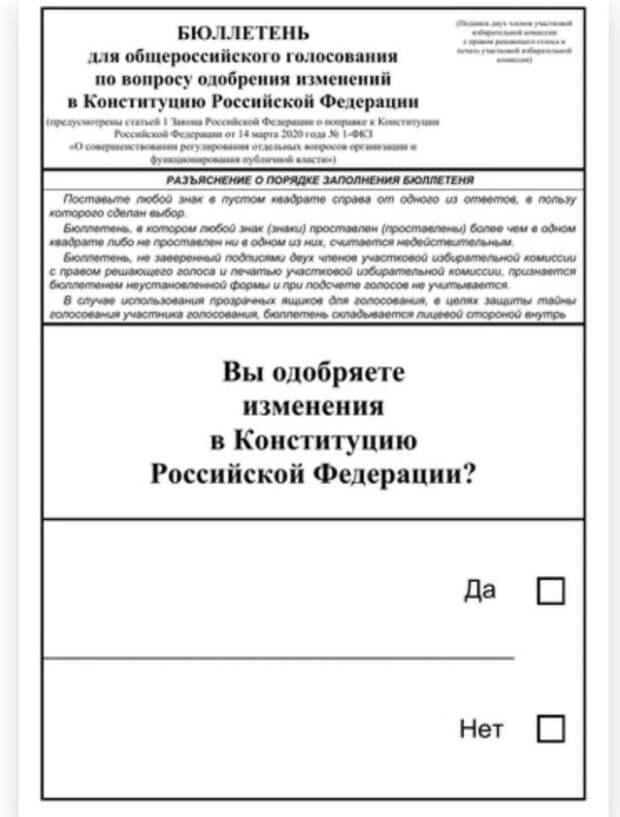 Памфилова раскрыла среднюю явку на голосовании по поправкам в Конституцию РФ
