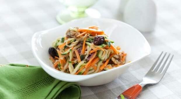Пять рецептов блюд из молодых кабачков