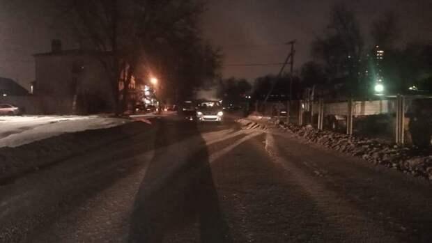 Наул.Расковой Оренбурга водитель Renault Logan сбил женщину