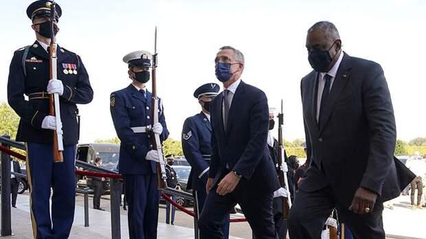 Россия сделала НАТО подарок, из-за неё поменяли повестку саммита. Вместо бeгcтвa американцев из Афгана, будут обсуждать Россию