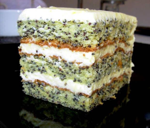 Вкусная выпечка. Маковый торт и маковый пирог (1) (640x549, 267Kb)