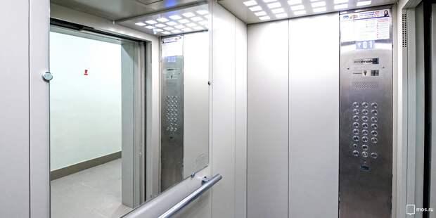 В шести домах Войковского планируется замена лифтового оборудования