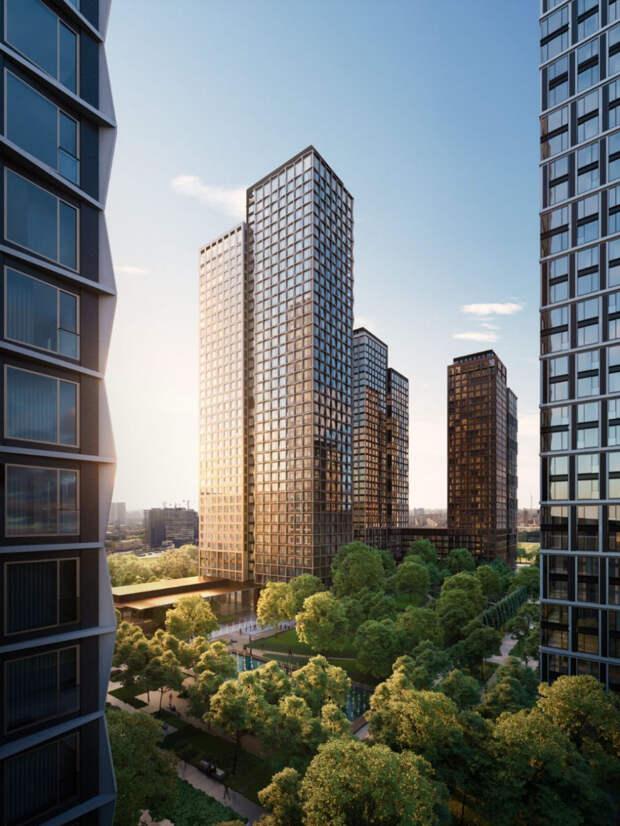 Новостройки Москвы выше 100 метров. Обзор жилых небоскребов