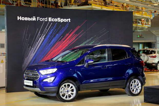 В России стартовал выпуск обновленного кроссовера Ford EcoSport
