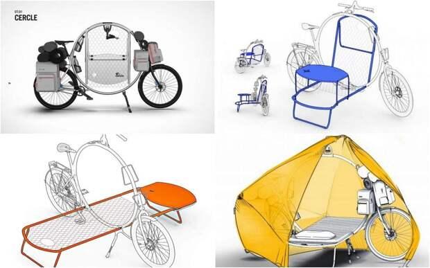 Идея на миллион: кемпер на велосипеде