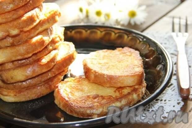 Рецепт сырных гренок