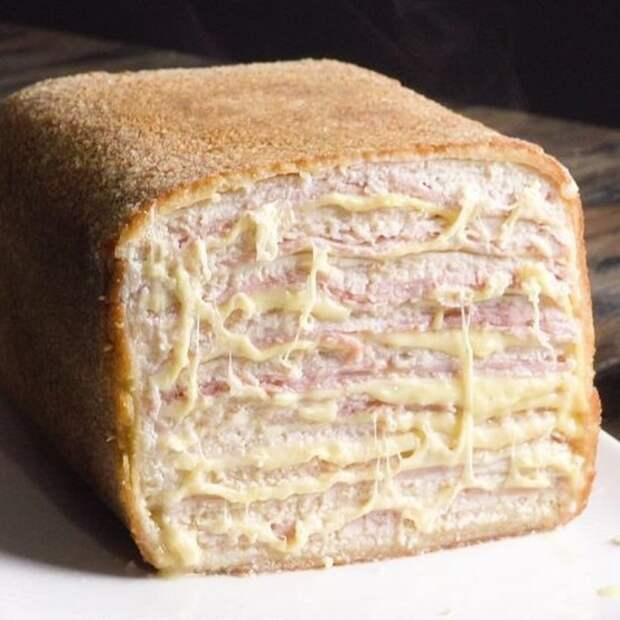 Огромный куриный кордон-блю вкусно, еда, красота, многослойное, необычно, пироги. мясо