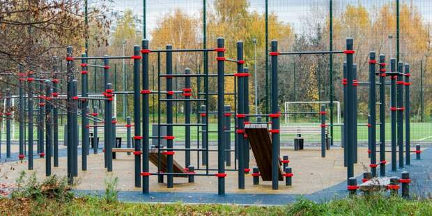 В парках в Митине детские и спортивные площадки вновь открыты