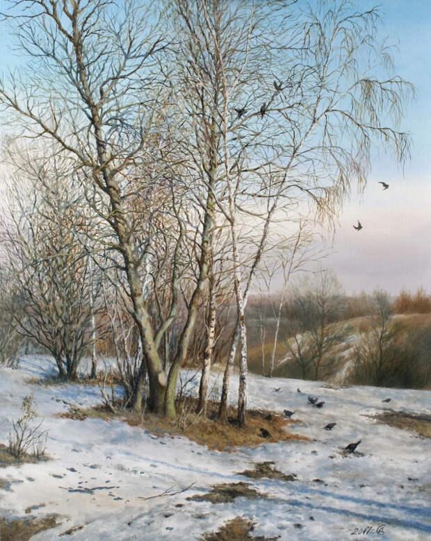 Сергей Владимирович Дорофеев. Ранняя весна в Коломенском