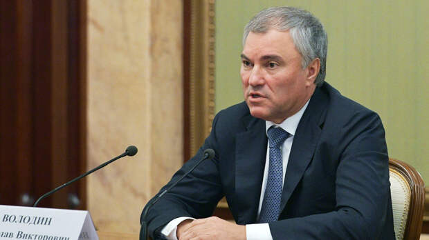Володин предложил способ заставить депутатов исполнять свои обещания