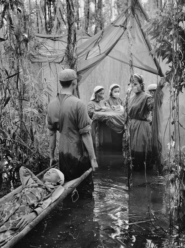 Редкие фотографии войны во Вьетнаме, сделанные партизанами Вьетконга