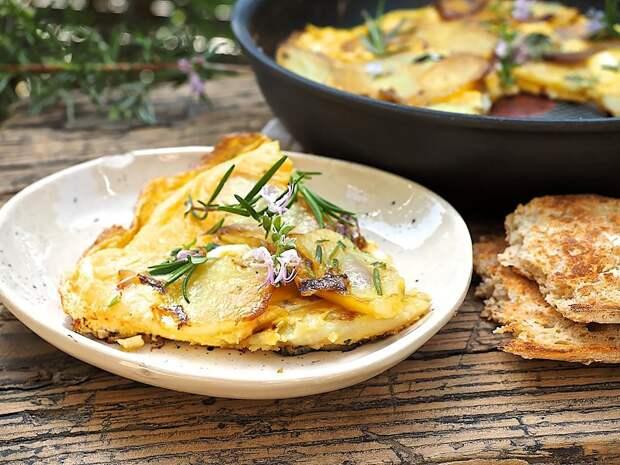 Картошка с яйцами: готовим для всей семьи