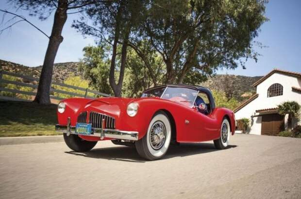 Woodill Wildfire Roadster 1952-1956 – Дикий огонь (11 фото)