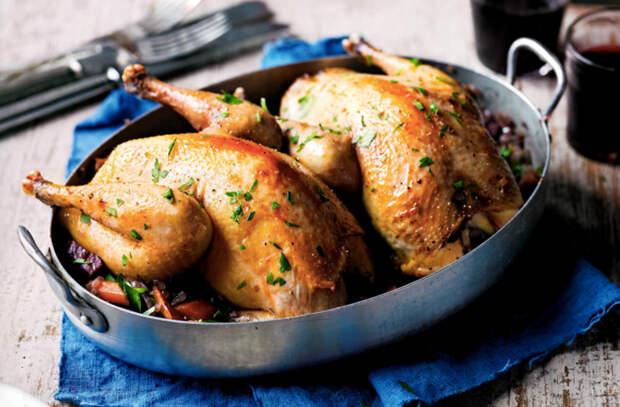 Самые вкусные блюда из птицы для новогоднего меню
