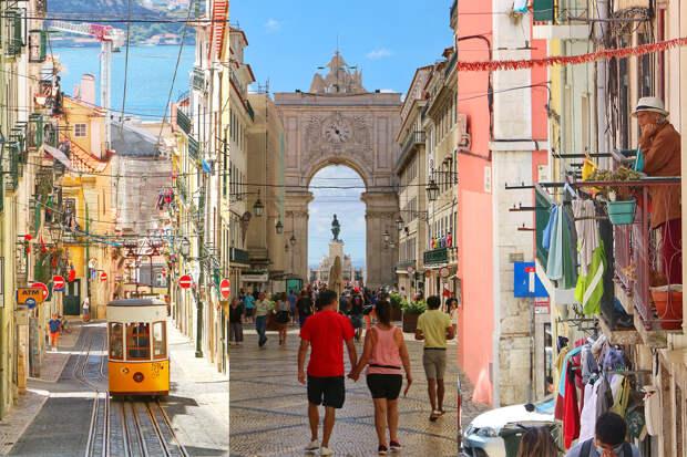 Достопримечательности Лиссабона во время пандемии