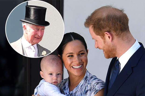 Принц Чарльз лишит сына принца Гарри и Меган Маркл королевского титула