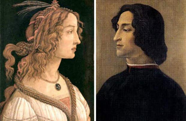 Роковая любовь: Джулиано Медичи и Симонетта Веспуччи