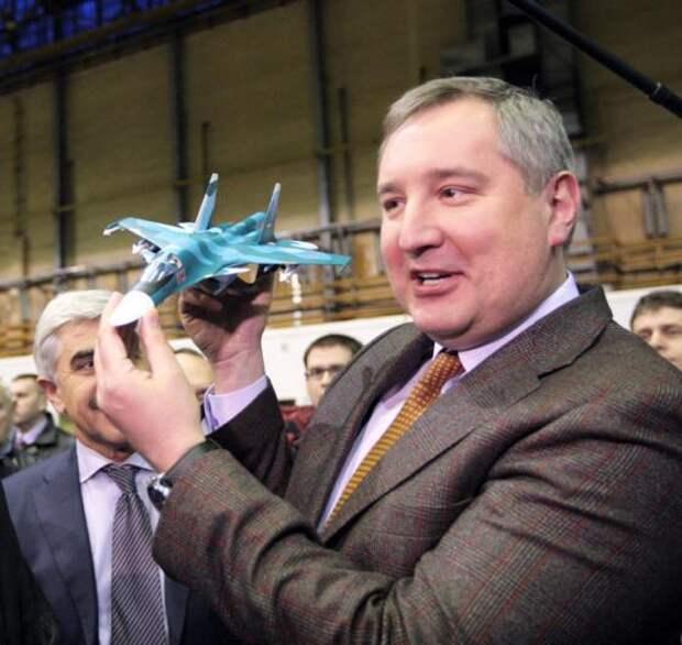Рогозин снимет фильм о самолетах «Сухого»