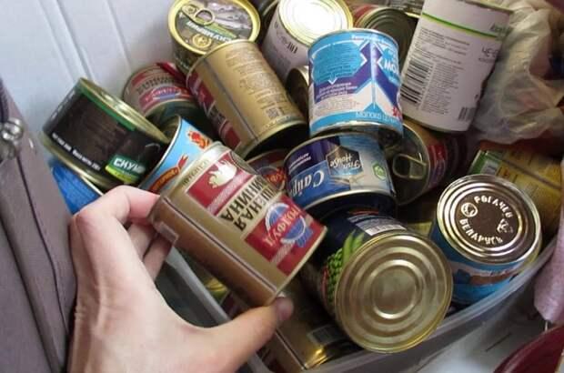 Запасы консерв на кухне или в кладовке никогда не помешают