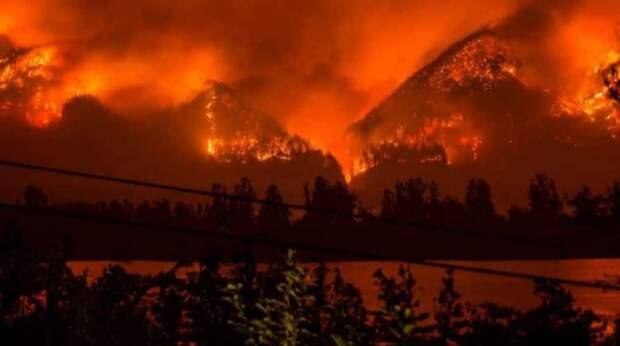 Пожары в США охватили уже более 2 миллионов гектаров территории страны