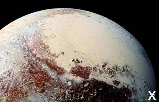 Равнина Спутника. Фото: NASA/JHUAPL/SWRI