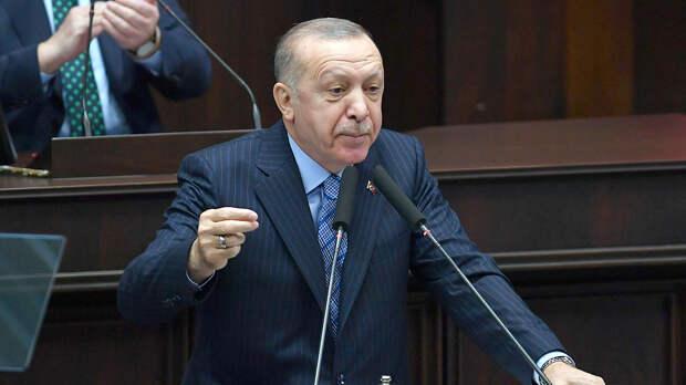 """В Кремле прокомментировали заявление Эрдогана об """"аннексии Крыма"""""""