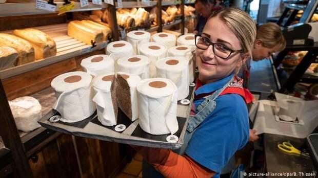 В Германии начали производить съедобную туалетную бумагу (фото ...