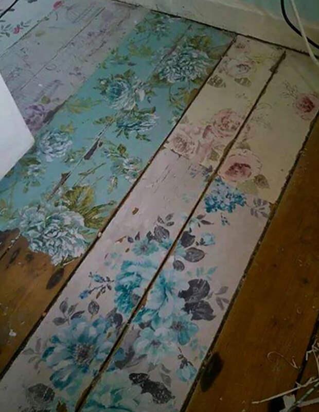 ремонт и покраска деревянных полов