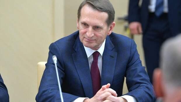Нарышкин заявил о переходе США к либерально-тоталитарному режиму