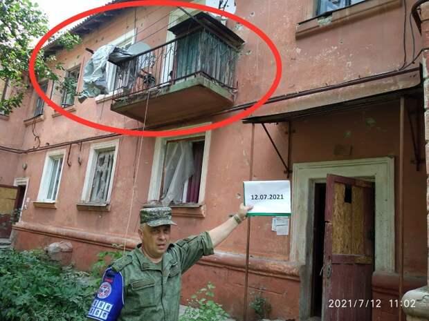 Тяжелая артиллерия ВСУ нанесла варварский удар по Горловке. Местные просят Путина вмешаться