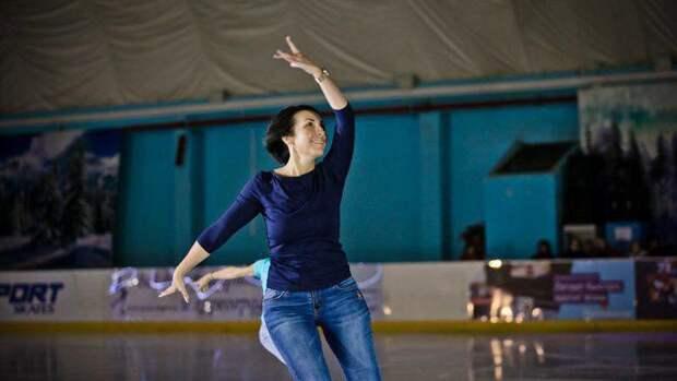 Вице-губернатор Оренбуржья Татьяна Савинова удивила всех мастерством катания нальду