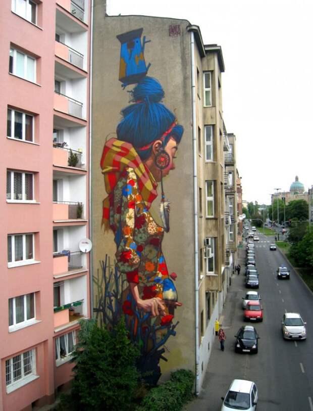 Удивительные примеры граффити