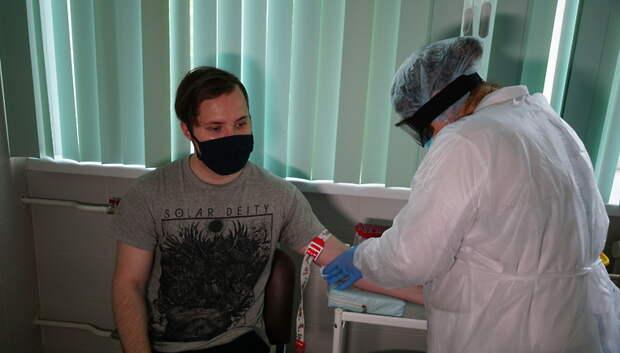 В Подольске началось массовое тестирование жителей на антитела к Covid‑19