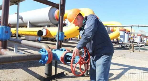 поставки газа из Словакии на Украину