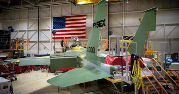 """В США провели испытания истребителя, """"которого никогда прежде не было"""""""