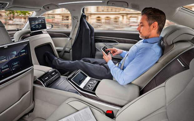 Новая Audi A8 - проверяем задатки рефлексолога