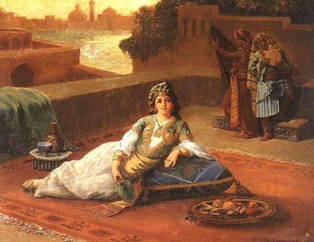 Правила жизни в турецком гареме